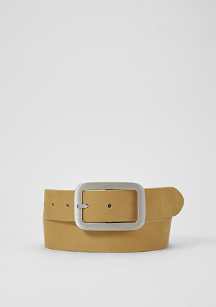 Sleek leather belt from s.Oliver