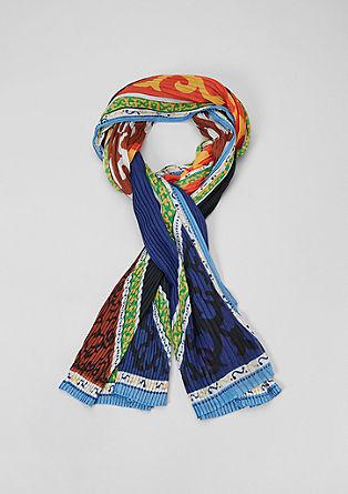 Sjaal met plooien