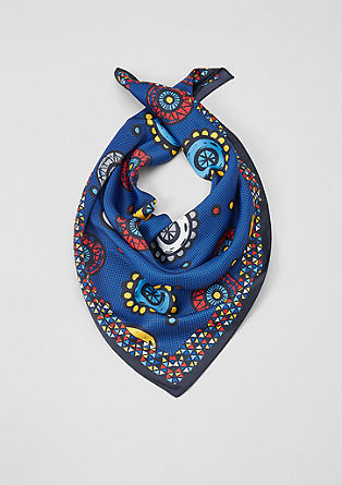 Patterned scarf from s.Oliver