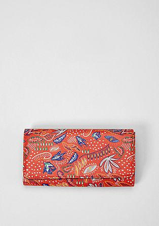 Portemonnaie mit buntem Print