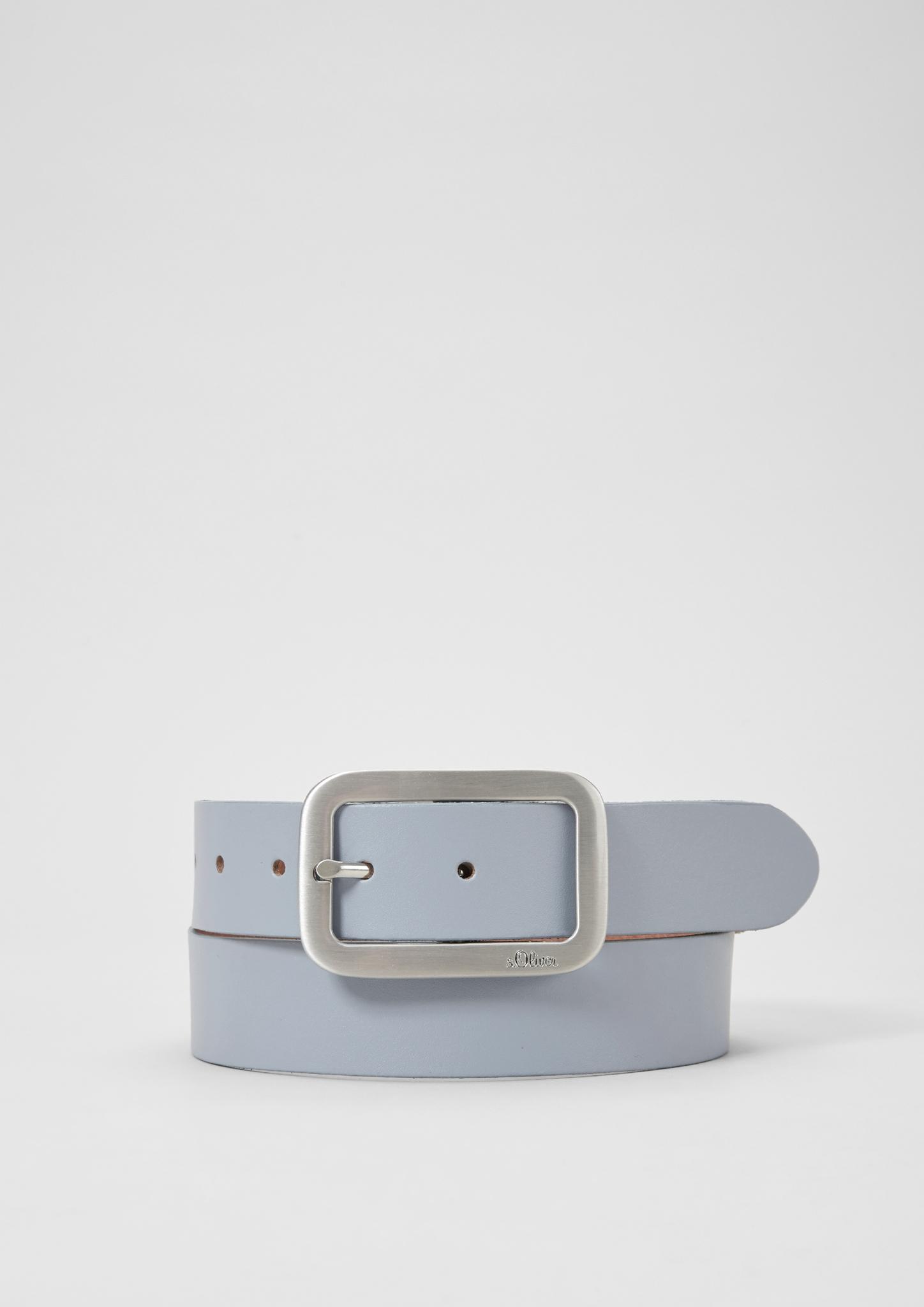 Liebeskind schmaler Gürtel NEU Croco braun violett 90 oder 95 cm