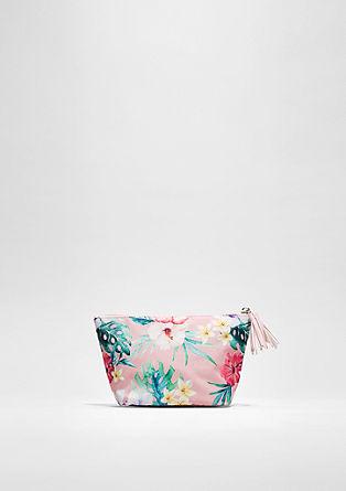Pouch mit Blüten-Print
