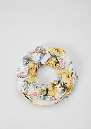 Loop mit Blumenmuster