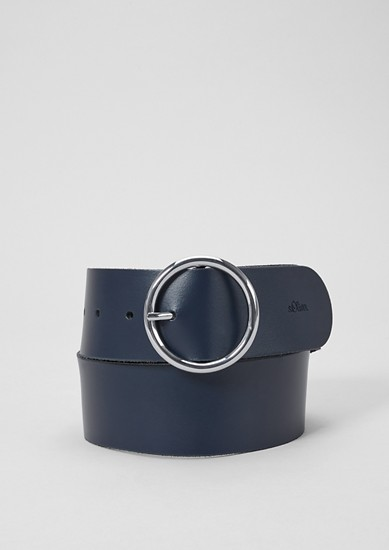 Elegant leather belt from s.Oliver
