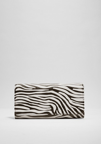 Purse with a zebra aesthetic from s.Oliver
