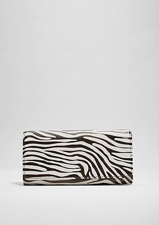 Portemonnee met een zebra look