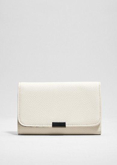 Textured flap purse from s.Oliver