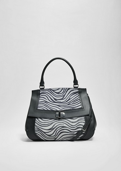 Shopper with a zebra pattern from s.Oliver