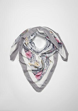 šátek shadím vzorem