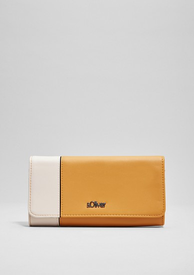 Flap Wallet im Two Tone-Look
