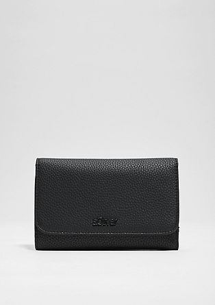 Faux leather flap purse from s.Oliver