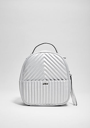 Rucksack with textured pattern from s.Oliver