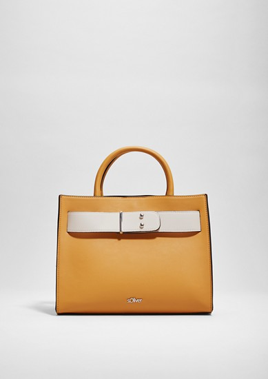 Elegant two-tone shopper from s.Oliver