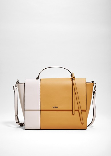 Shoulder bag in a two-tone look from s.Oliver