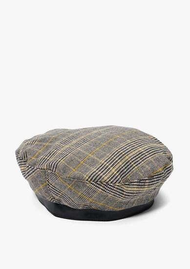 Mütze im Glencheck-Design