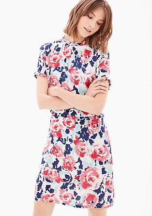 Kleid mit Rüschen-Details