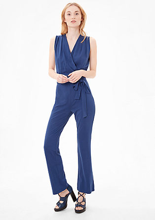 Feminine jersey jumpsuit from s.Oliver
