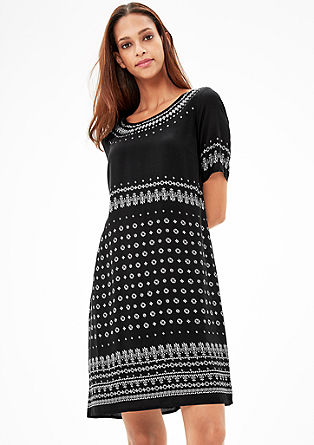 Dress with a tribal pattern from s.Oliver