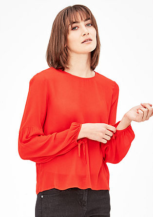 Casual crêpe blouse from s.Oliver