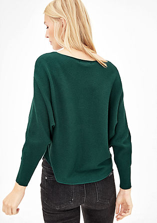 Short batwing jumper from s.Oliver