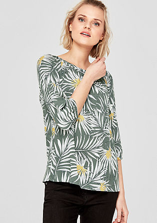 Patterned blouse from s.Oliver