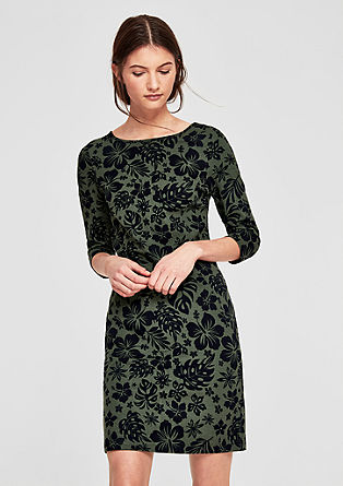 Floral sweatshirt dress from s.Oliver