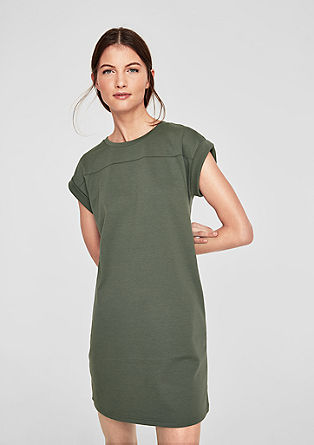 Sweatshirt dress with a relaxed silhouette from s.Oliver