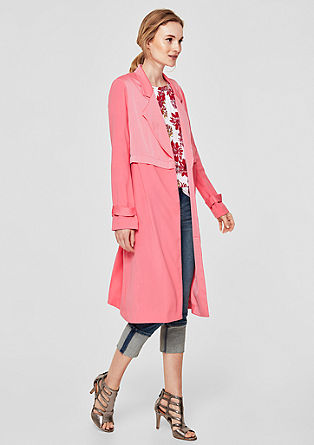 Lightweight coat with a matte sheen from s.Oliver