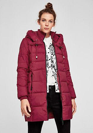 Manteau matelassé à capuche stylée de s.Oliver