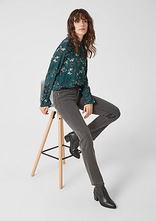 Jean stretch en denim gris de s.Oliver