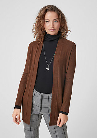 Melange cardigan from s.Oliver
