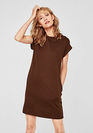 Interlock jersey stretchy dress from s.Oliver