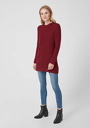Long-Pullover im Raglan-Style