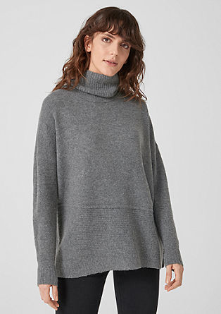 Jumper with asymmetric hem from s.Oliver