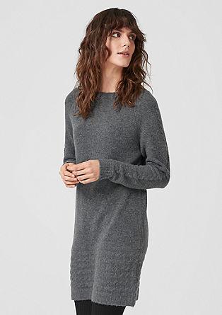Casual gebreide jurk