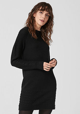 Casual knitted dress from s.Oliver