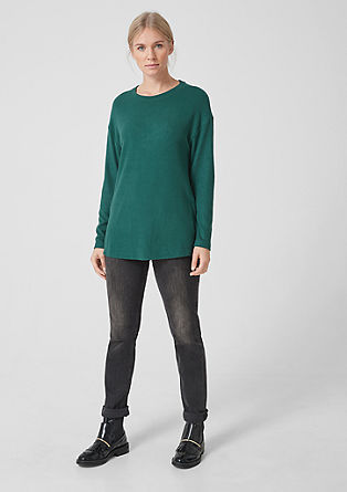 Long soft knit jumper from s.Oliver