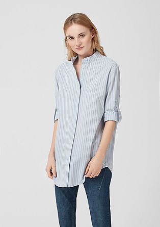 Long blouse with stripes from s.Oliver