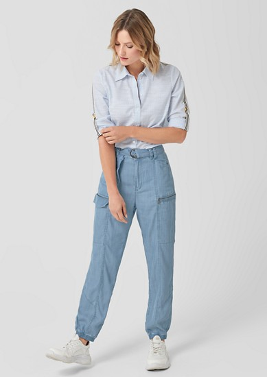 Lightweight denim in a relaxed fit from s.Oliver
