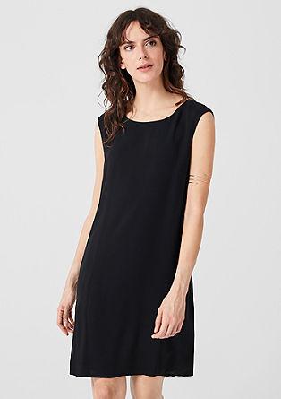 Ärmelloses Kleid aus Viskose
