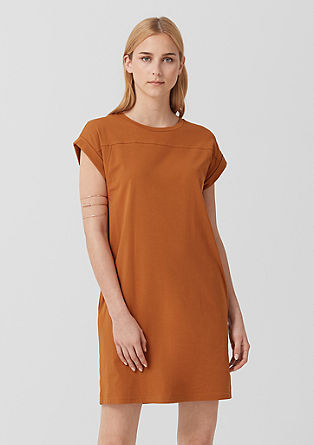 Lässiges Basic-Jerseykleid