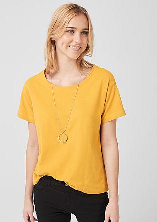 Shirt aus Baumwolljersey