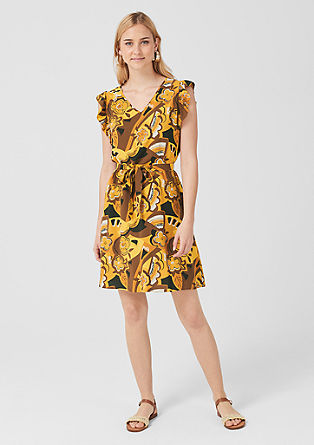 Viscose summer dress from s.Oliver