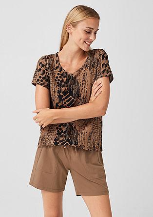 Kratke hlače iz džersija z velikimi žepi