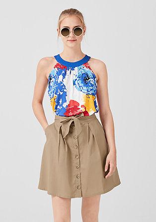 Linen blend skirt from s.Oliver