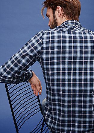 Extra Slim: Hemd mit Karos