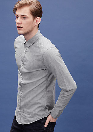 Extra Slim: chambray shirt from s.Oliver