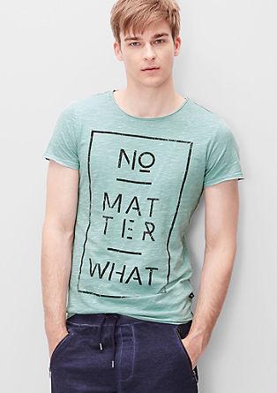 Statement-Shirt in Vintage-Optik