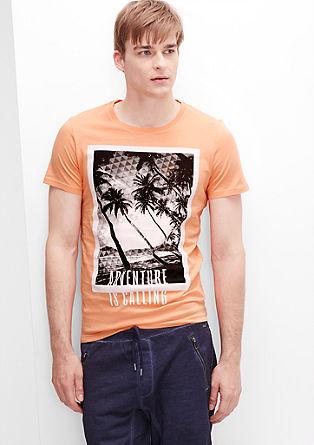 Farbenfrohes Shirt mit Palmen-Print