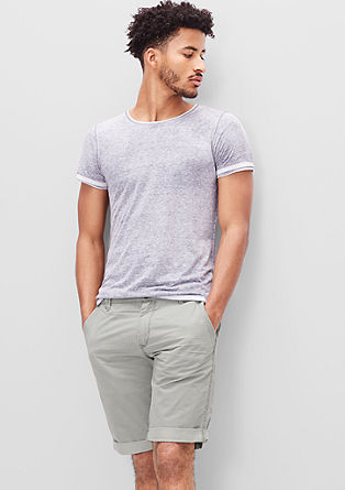 John Loose: Bermuda aus Used-Twill